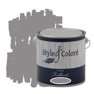 Slate Grey muurverf kalkmat